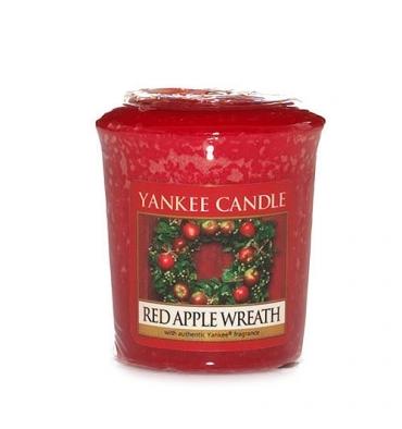 Red Apple Wreath (Sampler)