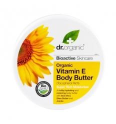 Organiczne masło do ciała 200 ml (Witamina E)