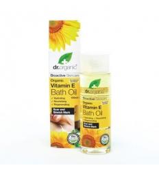 Organiczny olejek do kąpieli 100 ml (Witamina E)