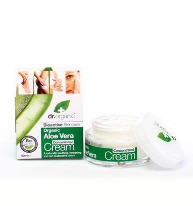 Organiczny krem koncentrat 50 ml (Aloe Vera)