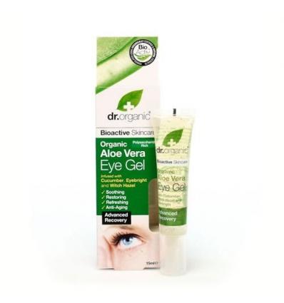Organiczny żel pod oczy 15 ml (Aloe Vera)