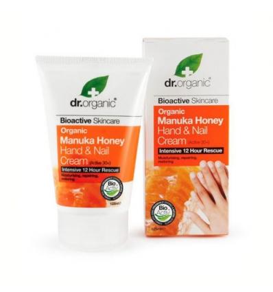 Organiczny krem do rąk i paznokci 125 ml (Miód Manuka)