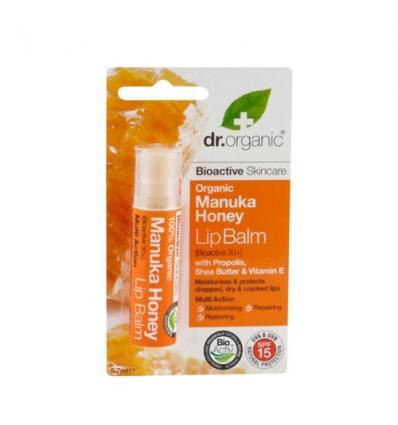 Organiczny balsam do ust (Miód Manuka)