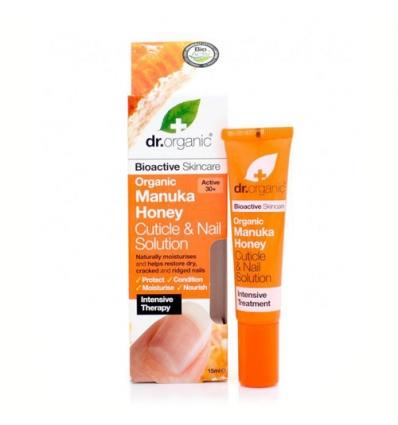 Organiczna odżywka do skórek i paznokci 15 ml (Miód Manuka)