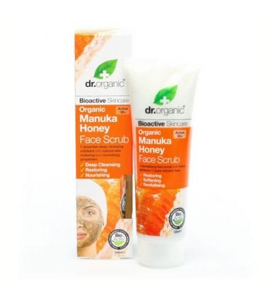 Organiczny peeling do twarzy 125 ml (Miód Manuka)
