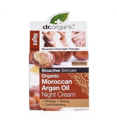 Organiczny krem na noc 50 ml (Marokański Olej Arganowy)