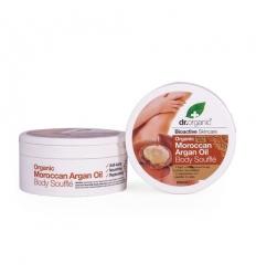 Organiczny suflet do ciała 200 ml (Marokański Olej Arganowy)