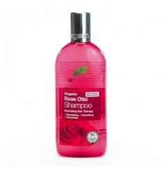 Organiczny szampon do włosów 265 ml (Olejek Różany)