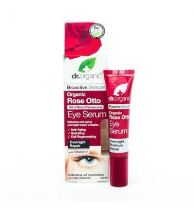 Organiczne serum pod oczy 15 ml (Olejek Różany)