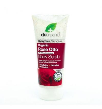 Organiczny peeling do ciała 200 ml (Olejek Różany)