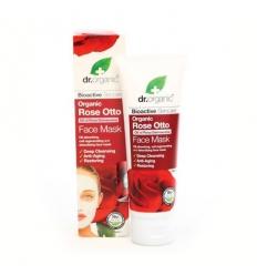 Organiczna maska do twarzy 125 ml (Olejek Różany)