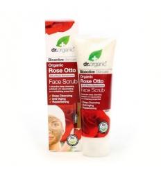 Organiczny peeling do twarzy 125 ml (Olejek Różany)