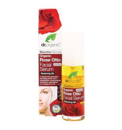 Organiczny olejek różany do pielęgnacji twarzy 50 ml