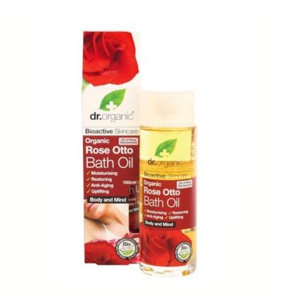 Organiczna oliwka do kąpieli 100 ml (Olejek Różany)