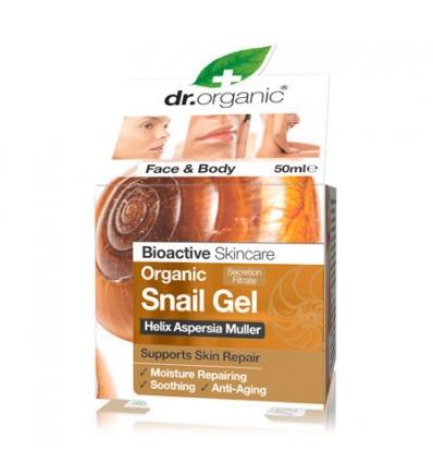 Regenerująco-nawilżający żel do twarzy i ciała ze śluzu ślimaka Snail Gel 50 ml