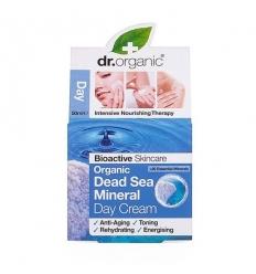 Organiczny krem na dzień 50 ml (Minerały Morza Martwego)