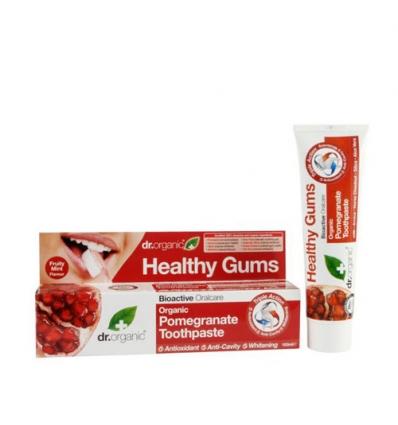 Organiczna pasta do zębów 100 ml (Owoc Granatu)
