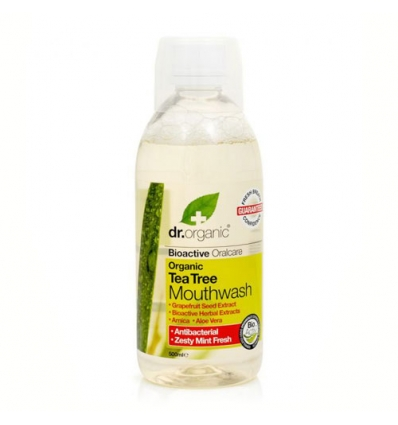 Organiczny płyn do płukania ust 500 ml (Drzewo Herbaciane)