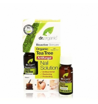 Organiczna antybakteryjna i przeciwgrzybicza odżywka do paznokci 200 ml (Drzewo Herbaciane)