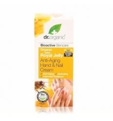 Organiczny krem do rąk i paznokci 125 ml (Mleczko Pszczele)