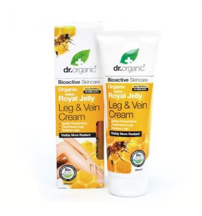 Organiczny krem do nóg usprawniający krążenie 200 ml (Mleczko Pszczele)