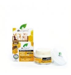 Organiczny krem na noc 50 ml (Mleczko Pszczele)