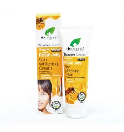 Organiczny krem rozjaśniający skórę 125 ml (Mleczko Pszczele)