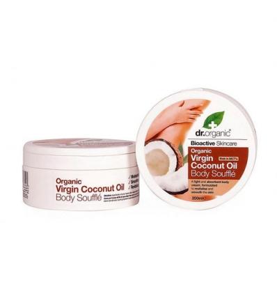 Organiczny suflet do ciała 200 ml (Olej Kokosowy Virgin)