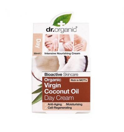 Organiczny krem na dzień 50 ml (Olej Kokosowy Virgin)