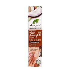Organiczny krem do rąk i paznokci 100 ml (Olej Kokosowy Virgin)