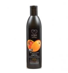 Szampon do włosów stymulacja wzrostu. Ekstrakt z pomarańczy i papryczki chili 360 ml (Love2Mix Organic)
