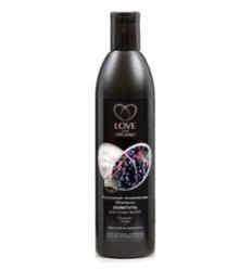 Szampon nawilżający do suchych włosów. Ekstrakt z jagód acai i proteiny perły 360 ml (Love2Mix Organic)