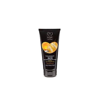 Maska odżywcza do włosów zniszczonych. Proteiny pszenicy i żółtko jajka 200 ml (Love2Mix Organic)
