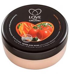 Krem do ciała do suchej i odwodnionej skóry. Pomidor i marchewka 250 ml (Love2Mix Organic)