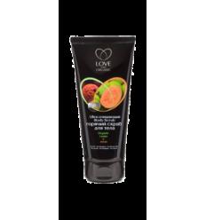 Scrub do ciała oczyszczający. Guawa i liczi 200 ml (Love2Mix Organic)