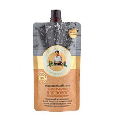 Balsam do włosów farbowanych. Pielęgnacyjno - ochrony 100 ml (Bania Agafii)