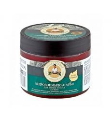 Mydło cedrowe do ciała i włosów 300 ml (Bania Agafii)