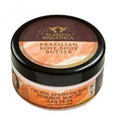 Masło do ciała. Brazylijskie Różane - odchudzające 300 ml (Planeta Organica)