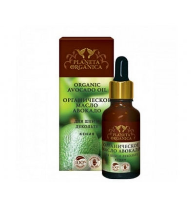 Olej Awokado - pielęgnacja szyi i okolic dekoltu 30 ml (Planeta Organica)