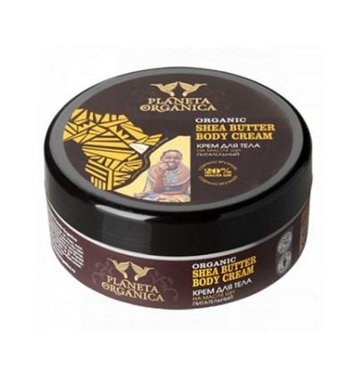 Odżywczy krem do ciała. Masło shea 250 ml (Planeta Organica)