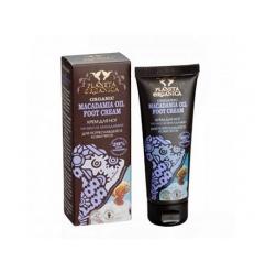 Krem do stóp do pękającej skóry pięt. Olej macadamia 75 ml (Planeta Organica)
