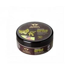 Scrub do ciała. Sprężystość i gładkość skóry - olej avocado 250 ml (Planeta Organica)
