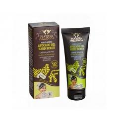 Scrub do rąk. Zmiękczający - olej avocado 75 ml (Planeta Organica)
