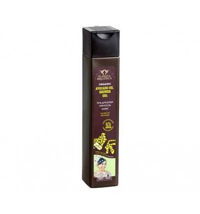 Żel pod prysznic. Zmiękczający - olej avocado 250 ml (Planeta Organica)