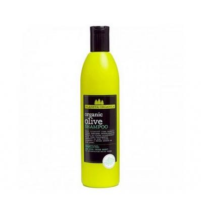 Szampon do włosów. Olej z oliwki toskańskiej 360 ml (Planeta Organica)