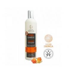 Szampon do włosów mocno zniszczonych i farbowanych 400 ml (Natura Siberica)