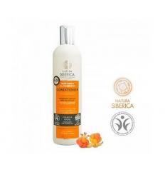 Odżywka do włosów farbowanych i zniszczonych. Intensywna odbudowa i odżywienie 400 ml (Natura Siberica)