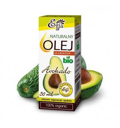 Olej Awokado BIO 50 ml (Etja)