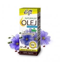 Olej Lniany BIO 50 ml (Etja)