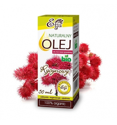Olej Rycynowy BIO 50 ml (Etja)